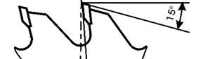 Пилы поперечного пиления сухой древесины, стружечних плит и ламината для ручного электроинструмента