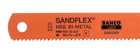 Биметаллические машинные полотна 3809 SANDFLEX