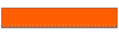 форма зубьев Multi-Grit C  Continuous