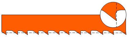 форма зубьев phg